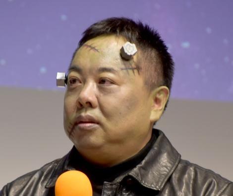 映画『屍人荘の殺人』ハロウィンイベントに出席した塚地武雅 (C)ORICON NewS inc.