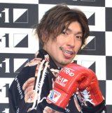 『K-1 WORLD GP 2019 JAPAN』横浜大会PRイベントに出席したEXIT・りんたろー。 (C)ORICON NewS inc.