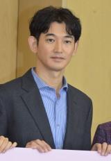 TBS新春ドラマ特別企画『あしたの家族』制作発表会に登壇した瑛太(C)ORICON NewS inc.