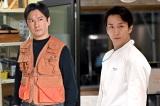 日曜劇場『グランメゾン東京』に出演する(左から)石丸幹二、大貫勇輔(C)TBS