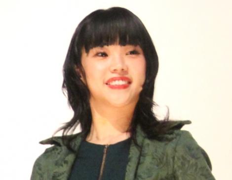 映画『IDOL—あゝ無情—』舞台あいさつに登場したアイナ・ジ・エンド (C)ORICON NewS inc.