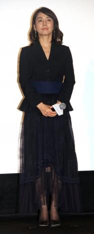 映画『マチネの終わりに』初日舞台あいさつに登場した石田ゆり子 (C)ORICON NewS inc.