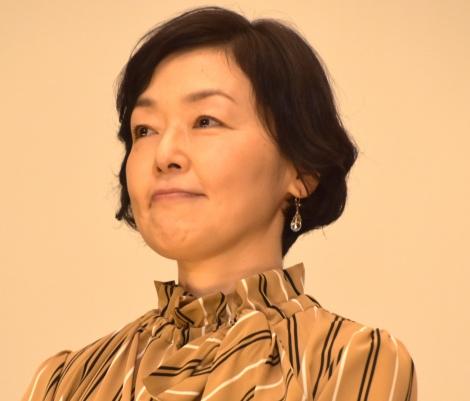 映画『閉鎖病棟』初日舞台あいさつに登壇した小林聡美 (C)ORICON NewS inc.
