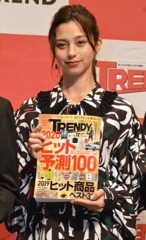 雑誌『日経トレンディ』が選ぶ「2019年 今年の顔」に選出された中条あやみ (C)ORICON NewS inc.