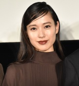 映画『最初の晩餐』公開舞台記念あいさつに登壇した戸田恵梨香 (C)ORICON NewS inc.
