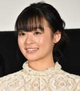 映画『最初の晩餐』公開舞台記念あいさつに登壇した森七菜 (C)ORICON NewS inc.