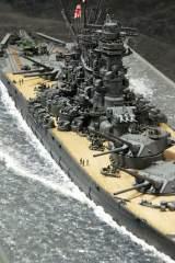作品:1/350戦艦「大和」の細部/制作:渡辺真郎氏/ブログ(HIGH-GEARedの模型と趣味の日常)「艦船模型スペシャル No71」掲載作例