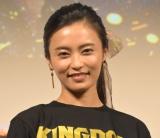 映画『キングダム』ブルーレイ&DVDリリース記念前夜祭に出席した小島瑠璃子 (C)ORICON NewS inc.