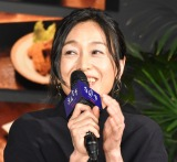 Netflixオリジナルシリーズ『深夜食堂-Tokyo Stories Season2-』の配信記念スペシャルイベントに登壇した吉本菜穂子