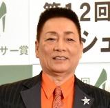 『第12回 日本シューズベストドレッサー賞』授賞式に出席した錦野旦 (C)ORICON NewS inc.