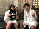 『声優と夜あそび』に出演した(左から)大河元気、関智一(C)AbemaTV