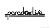『Paradox Live(パラドックスライブ)』作品ロゴ (C)Paradox Live2019