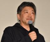 『真実』の特別編集版公開記念舞台あいさつに登壇した是枝裕和 (C)ORICON NewS inc.