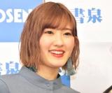 ドキュメンタリーフォトブック『アンジュルムと書いて、青春と読む。』発売記念イベントに出席した川村文乃 (C)ORICON NewS inc.