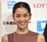 『ベストスマイル・オブ・ザ・イヤー2019』授賞式に出席した中村アン (C)ORICON NewS inc.