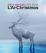 L'Arc〜en〜Ciel『LIVE 2018 L'ArChristmas』Blu-ray通常盤ジャケット