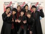 8日放送の『ミュージックステーション』に出演するKis-My-Ft2(C)テレビ朝日