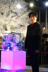 『KIOI CRYSTAL WINTER '19/ '20』点灯式に出席した山崎育三郎