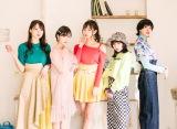 さんみゅ〜(左から)西園みすず、野田真実、木下綾菜、新原聖生、小林弥生