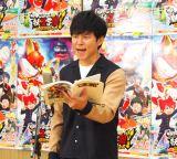 『映画 妖怪学園Y 猫はHEROになれるか』の公開アフレコを行ったアンジャッシュ・渡部建 (C)ORICON NewS inc.