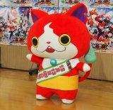 『映画 妖怪学園Y 猫はHEROになれるか』の公開アフレコを行ったジバニャン (C)ORICON NewS inc.