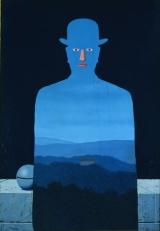 ルネ・マグリット 《王様の美術館》1966年 横浜美術館蔵」