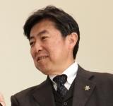 映画『閉鎖病棟』大ヒット舞台あいさつに登場した笠井信輔アナウンサー (C)ORICON NewS inc.