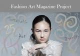 『Fashion Art Magazine Project』の創刊号で表紙を飾るEida