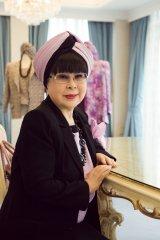 天皇陛下の御即位をお祝いするメッセージを寄せた桂由美氏