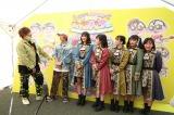 『大阪パフェ』初日に出演した(左から)EXIT、たこやきレインボー