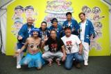 『大阪パフェ』に出演した(前列左から)月亭方正、間寛平、たむらけんじ、(後列)ET-KING