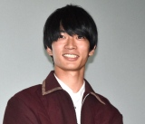 映画『生理ちゃん』の公開記念舞台あいさつに出席した須藤蓮 (C)ORICON NewS inc.