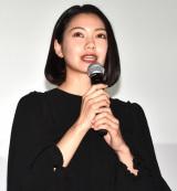映画『生理ちゃん』の公開記念舞台あいさつに出席した二階堂ふみ (C)ORICON NewS inc.