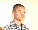 映画『ブラック校則』で公開記念舞台あいさつに参加した葵揚 (C)ORICON NewS inc.