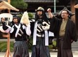 映画『決算!忠臣蔵』公開直前イベントに参加した(左から)岡村隆史、堤真一、中村義洋監督 (C)ORICON NewS inc.