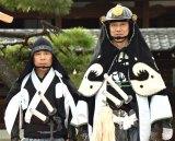 映画『決算!忠臣蔵』公開直前イベントに参加した(左から)岡村隆史、堤真一 (C)ORICON NewS inc.