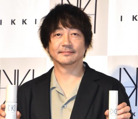 『メンズコスメブランド「IKKI」』の新商品発表イベントに出席した大森南朋 (C)ORICON NewS inc.