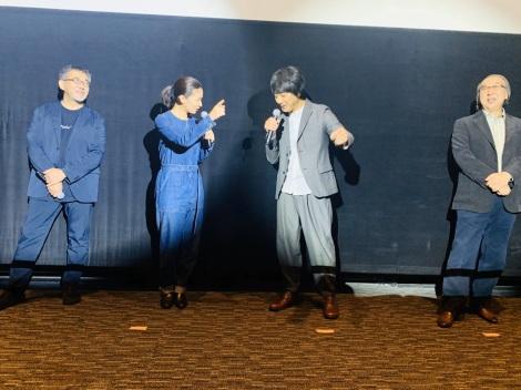映画『影踏み』群馬県先行公開舞台あいさつの様子 (C)2019「影踏み」製作委員会