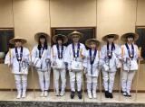 お遍路姿で愛媛県内の霊場26ヶ所を巡礼したBiSHとマネージャーの渡辺淳之介氏
