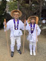 『#BiSHお遍路』で愛媛県内の霊場巡りをした渡辺淳之介氏とモモコグミカンパニー