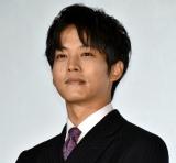 映画『蜜蜂と遠雷』の初日舞台あいさつに登壇した松坂桃李 (C)ORICON NewS inc.