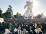 原点で新曲初披露フリーライブを開催したDa-iCE(ダイバーシティ東京プラザ フェスティバル広場)