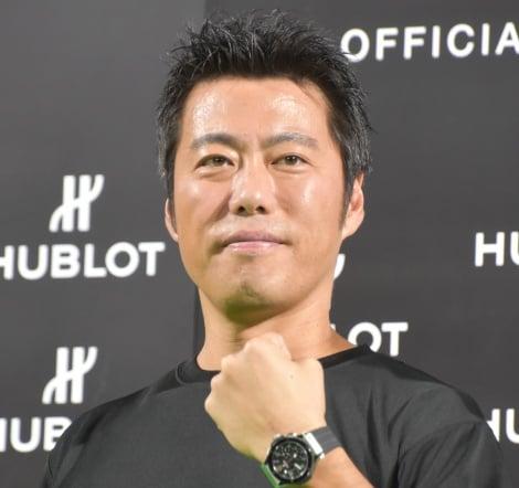 『ウブロ×プレミア12 チャリティーイベント』に出席した上原浩治 (C)ORICON NewS inc.