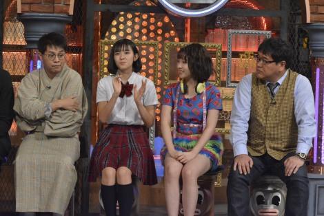BEYOOOOONDSで流行っている「ぶりっ子じゃんけん」を考案したという山崎夢羽(左から2人目)(C)読売テレビ