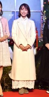 『aoyama christmas circus by avex』クリスマスツリー点灯式に出席した鈴木亜美 (C)ORICON NewS inc.