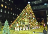 『aoyama christmas circus by avex』よりクリスマスツリー (C)ORICON NewS inc.