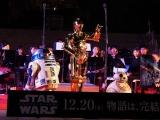 『スター・ウォーズ/スカイウォーカーの夜明け』成功祈願に登場した(左から)R2-D2、C-3PO、BB-8 (C)ORICON NewS inc.