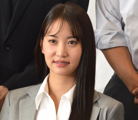 BS12トゥエルビドラマ『課長バカ一代』製作発表会見に登壇した永尾まりや (C)ORICON NewS inc.