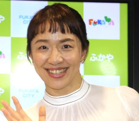 『深谷ねぎらいの日』記者発表会に登場した浜口京子 (C)ORICON NewS inc.