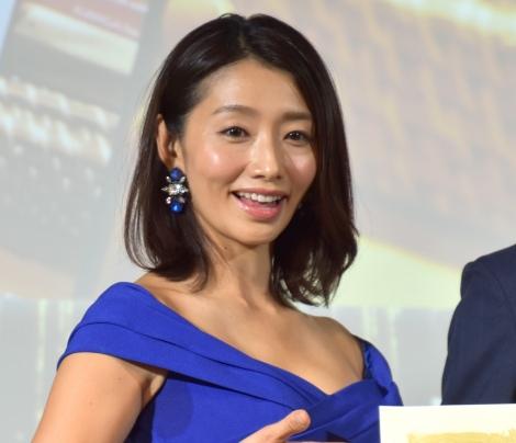 『2019 第32回 小学館 DIMEトレンド大賞』贈賞式に出席した眞鍋かをり (C)ORICON NewS inc.